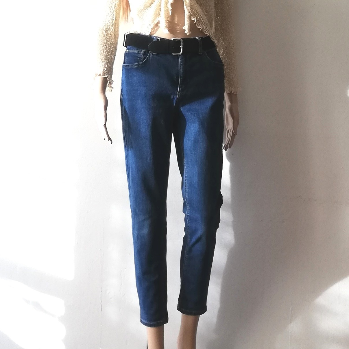 Jones New York Soho Ankle Jeans Soft Stretch Denim Depop