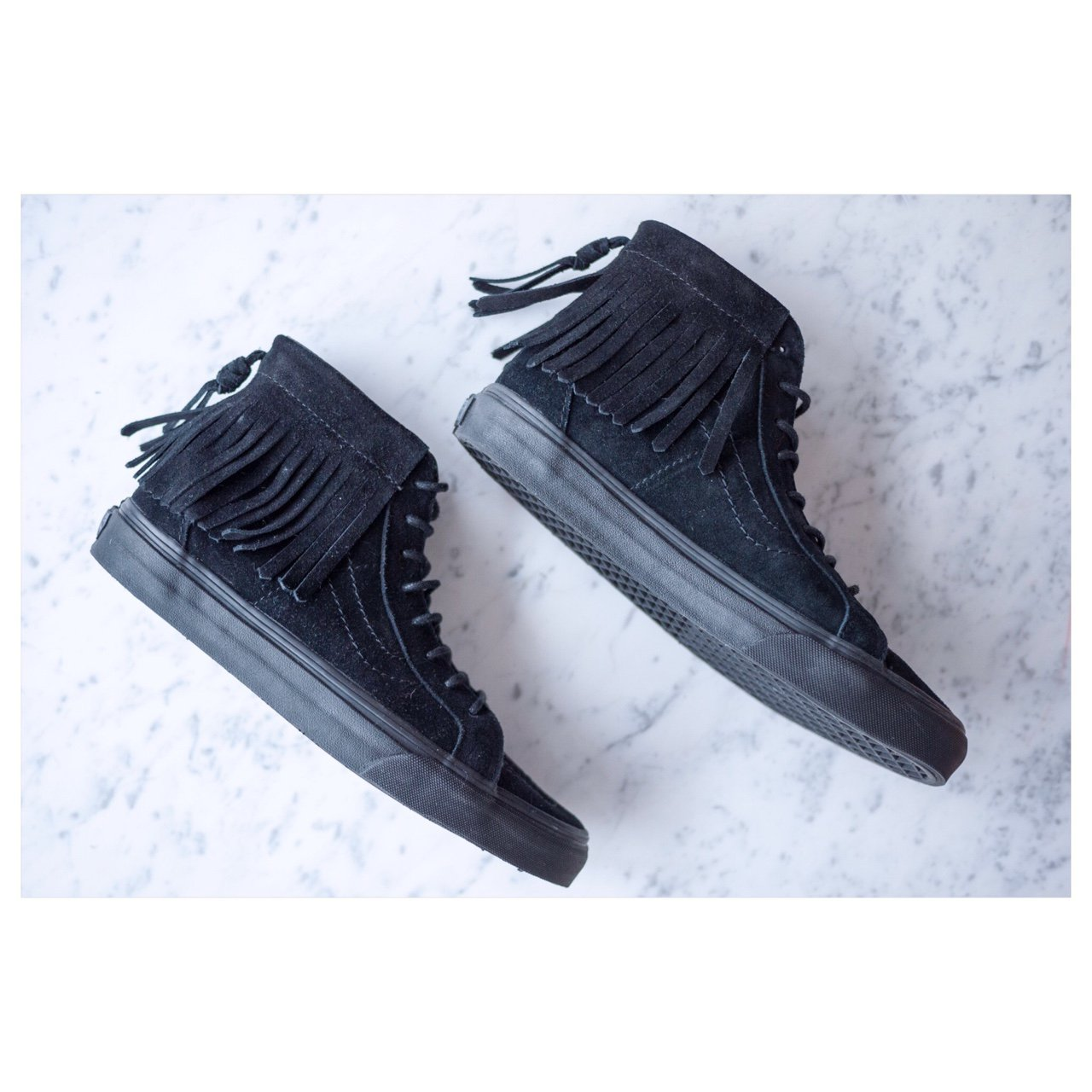 954f97dc96e VANS SK8 - HI soft black suede moccasins NEW with box - Depop