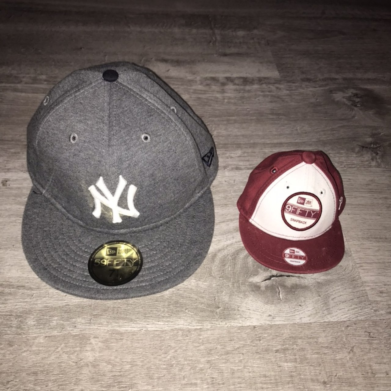 d0dfe27813f New era 9 fifty mini cap x 2 picture 1 and 2 novelty size do - Depop