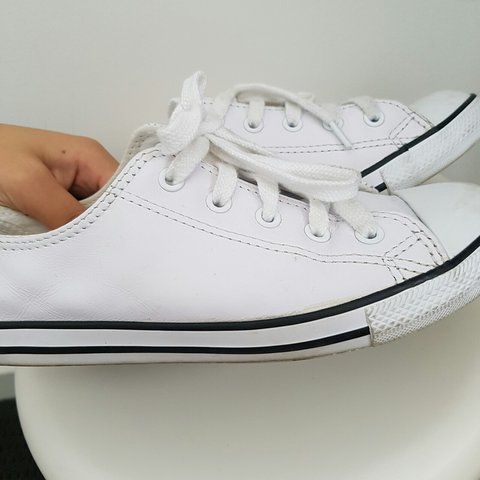 c33bc0973883e7 converse - leather white dainty ox