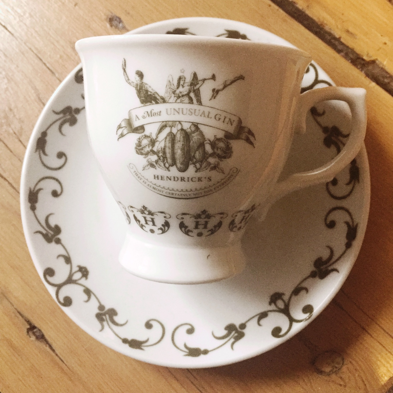 Rare And Collectible Hendrick S Gin Tea Cups And Depop