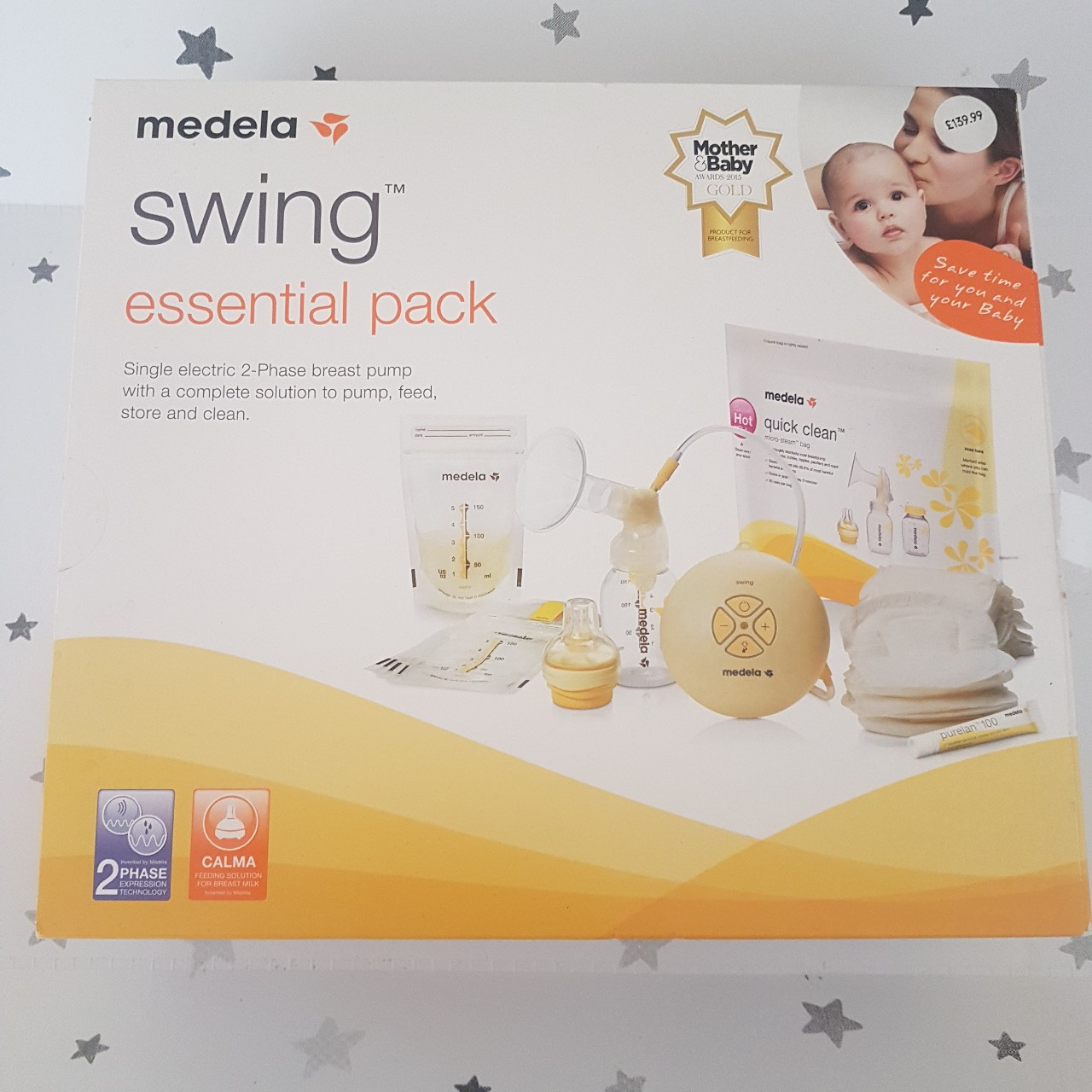 Medela Swing Single Electric 2 Phase Breast Pump Depop