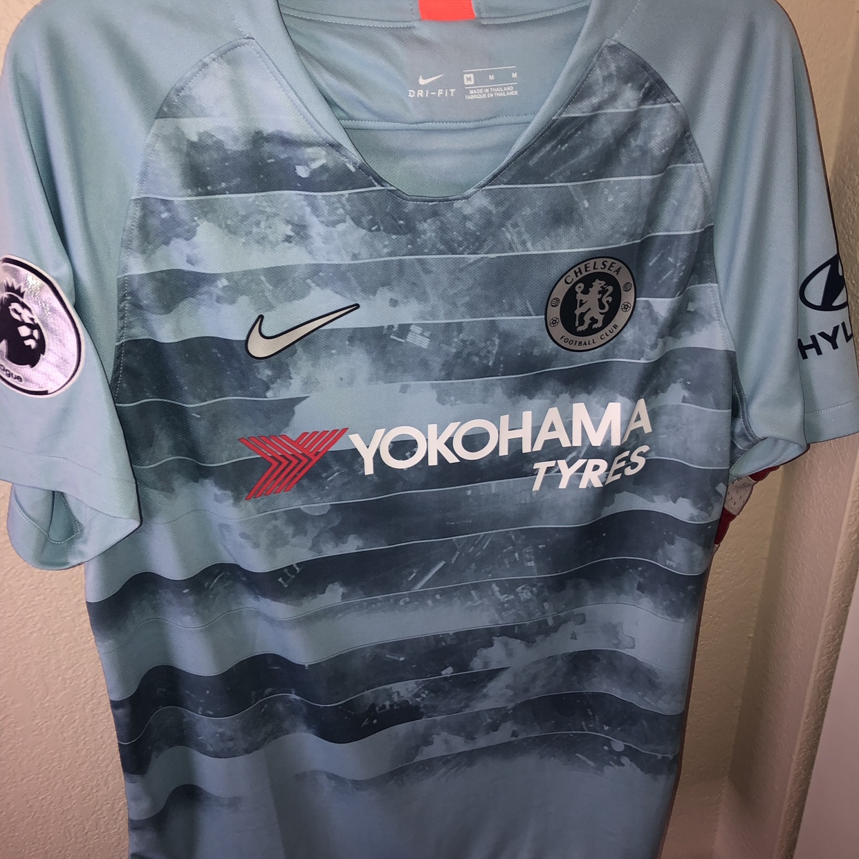 wholesale dealer 1439b ead37 Chelsea FC Eden Hazard Kit/Jersey. 2018/2019 Third... - Depop