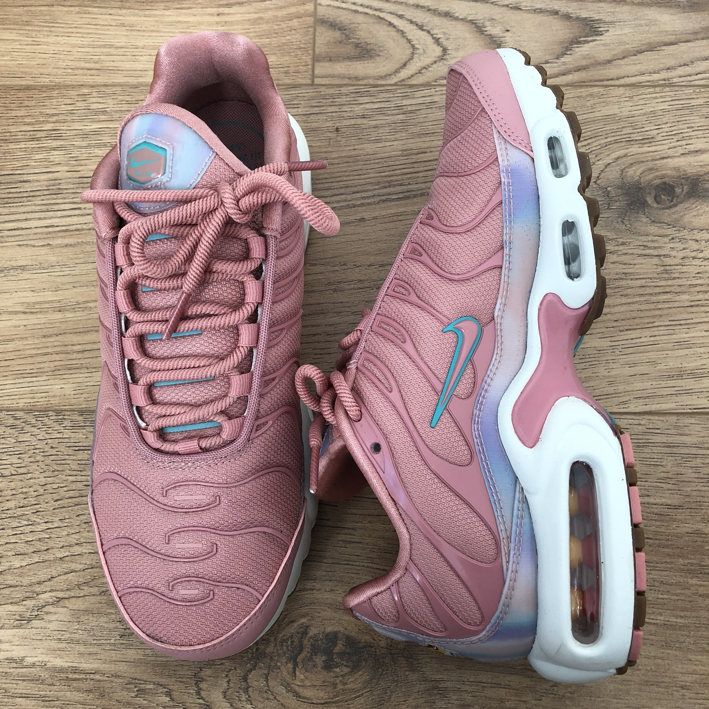 great deals 2017 best loved biggest discount Nike Air Max Plus SE Red Stardust (Pink) Size UK... - Depop