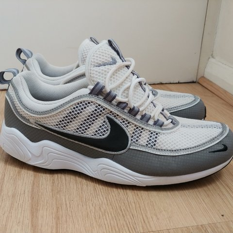 d35bb36a0892 Nike Air Zoom Spiridon size UK 10 Ash Grey Black Worn once - Depop
