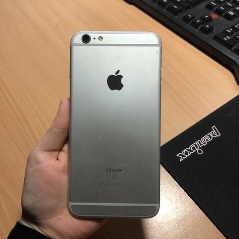 Iphone 6s Plus Silver 128gb Battery Life Isn T Great Has A Depop