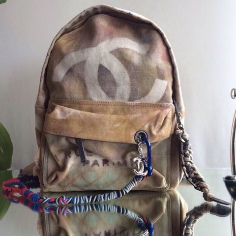 c9c2a1668cdb8c Chanel Rucksack brand new never been used comes with box & - Depop