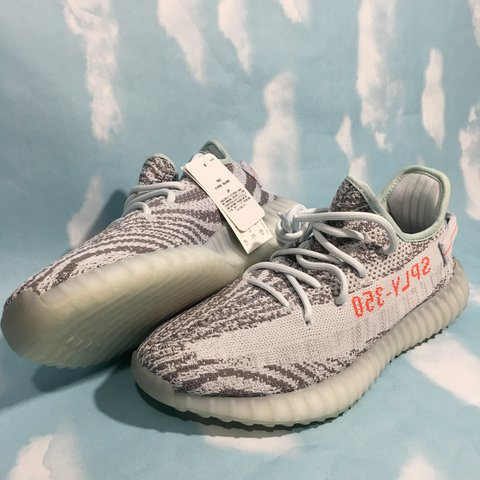 370871bf6a911 100% Real Adidas Yeezy Boost 350 v2 Blue Tint Zebra. I Have - Depop