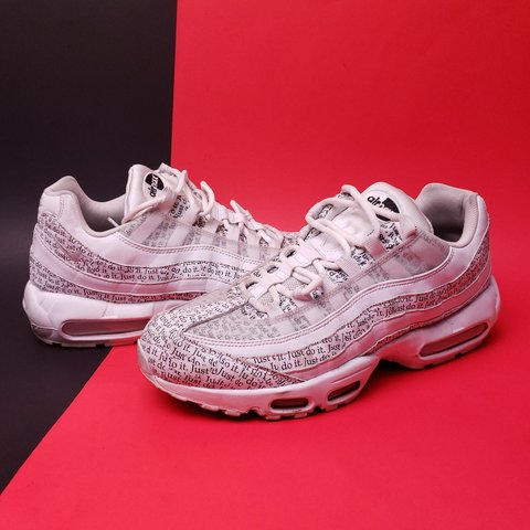 7cdd1d038e @geebclothes. 5 days ago. Florida, US. NIKE Air Max 95 'Just Do It' pack  sneakers!