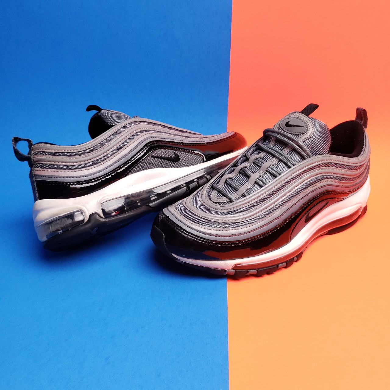 official photos 3d91c 52ae0 Nike Air Max 97 'Patent Leather' sneaker! Crazy... - Depop