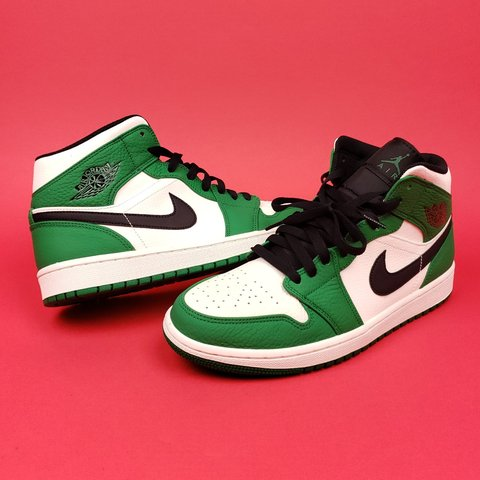 baee9196ab2 @geebclothes. last month. Florida, US. Air Jordan 1 Mid Pine Green ...