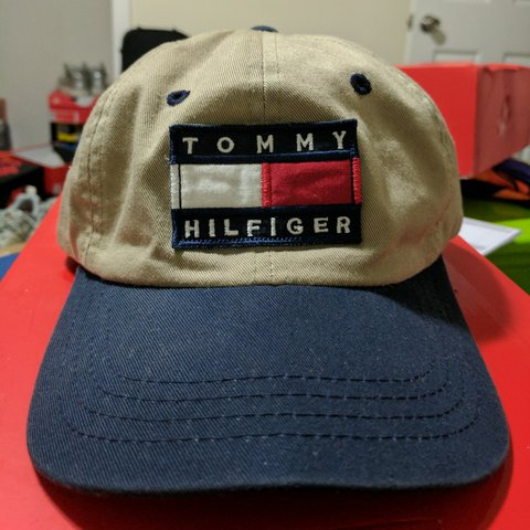1a4905b5 @tyronemoney. 2 years ago. Washington, DC, USA. Vintage Tommy Hilfiger  Snapback ...