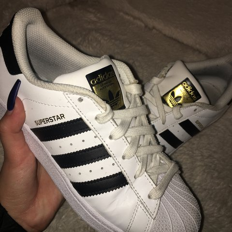 Original Adidas superstar shoes in good condition.