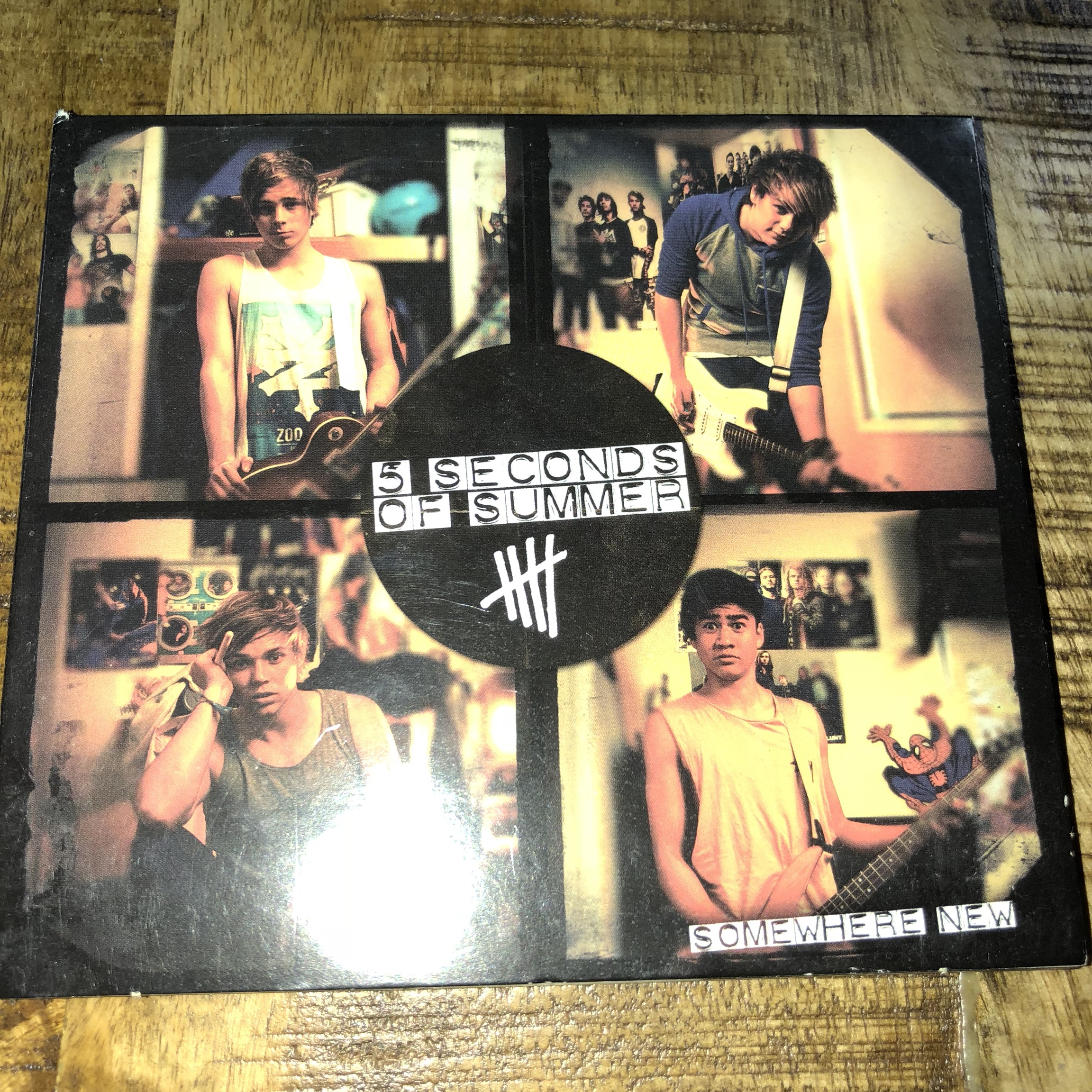 5 seconds of summer Somewhere New ep  Has been used