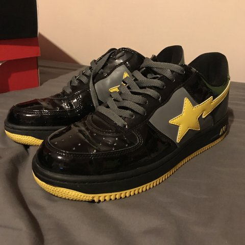 06682b6d17f1 BAPE A Bathing Ape Bapesta DC Comics Collab Batman from UK - Depop