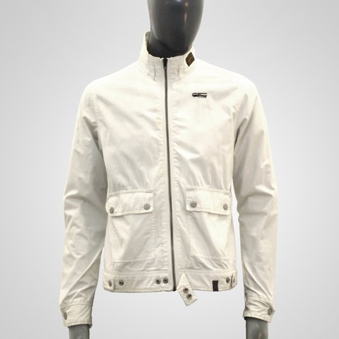 9955f1136f6 @caragh13. 3 years ago. Croydon, UK. White G-Star Raw Men's Biker Jacket ...
