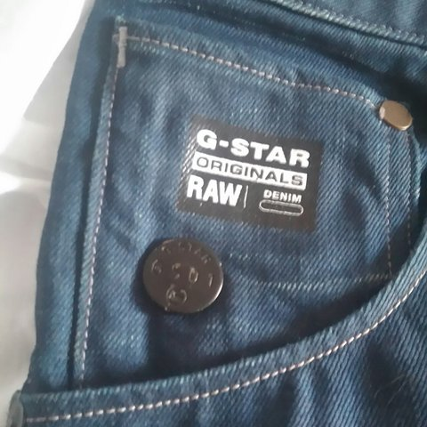 5d10ea4f G-Star raw jeans only worn once or twice,size 34. RRP price - Depop