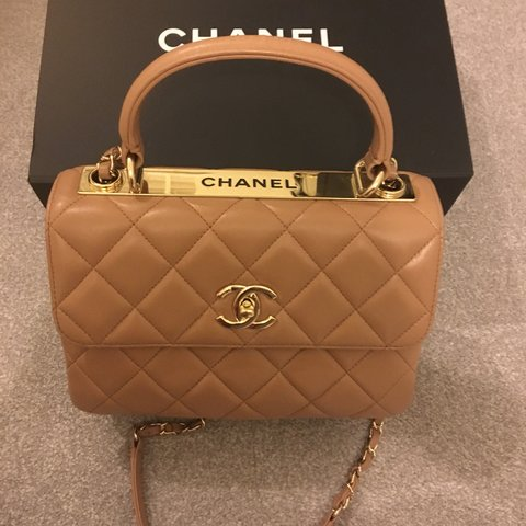 776c2aaa1db9 Chanel Trendy CC size small with gold hardware. A beautiful - Depop