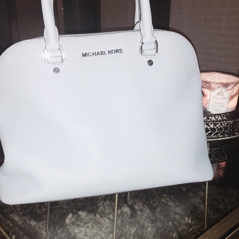 5cec22c1f05d Michael Kors handbag. Pastely blue color. This bag is a nice - Depop