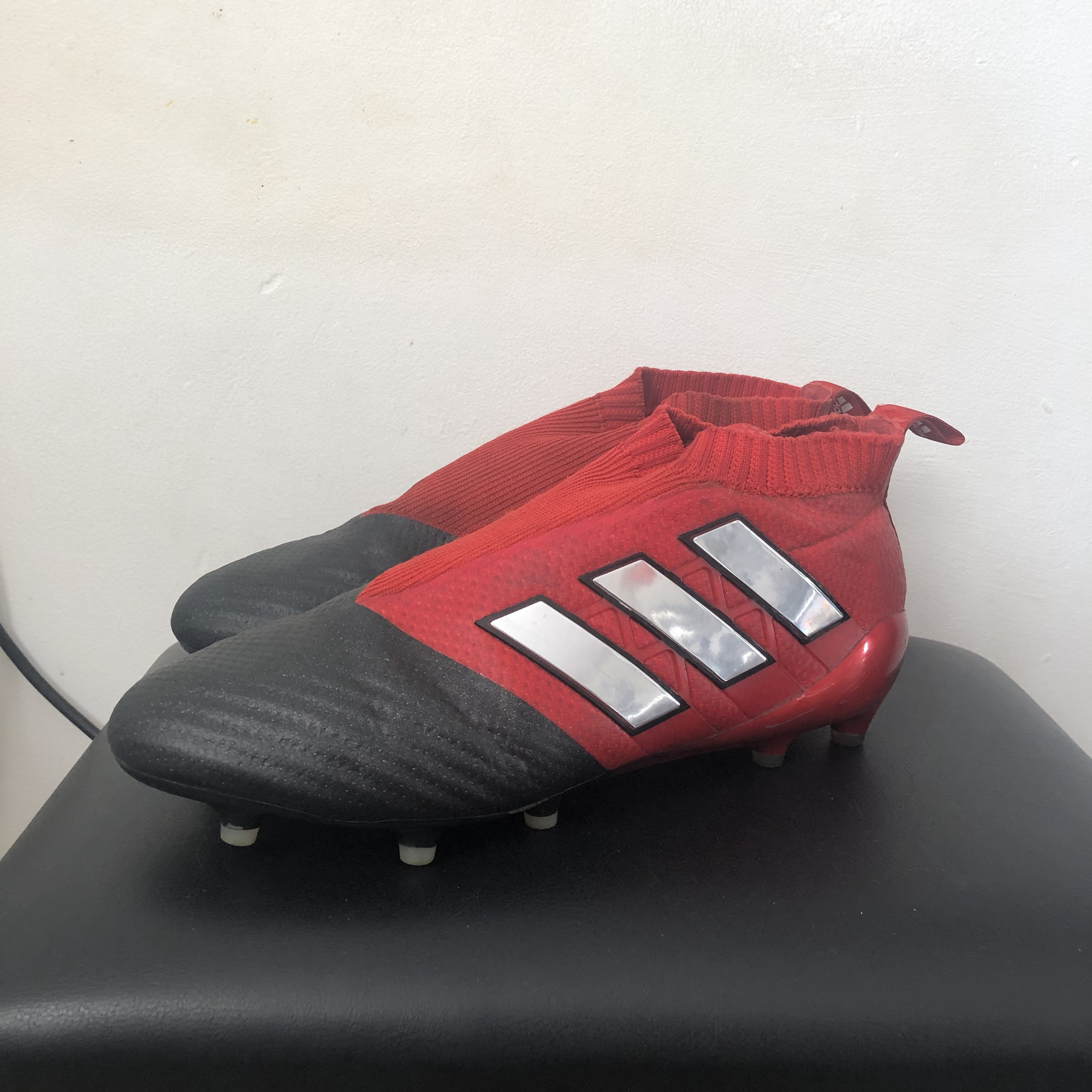 finest selection fada3 75770 Adidas Ace Pure Control 17+ Laceless FG boots +... - Depop