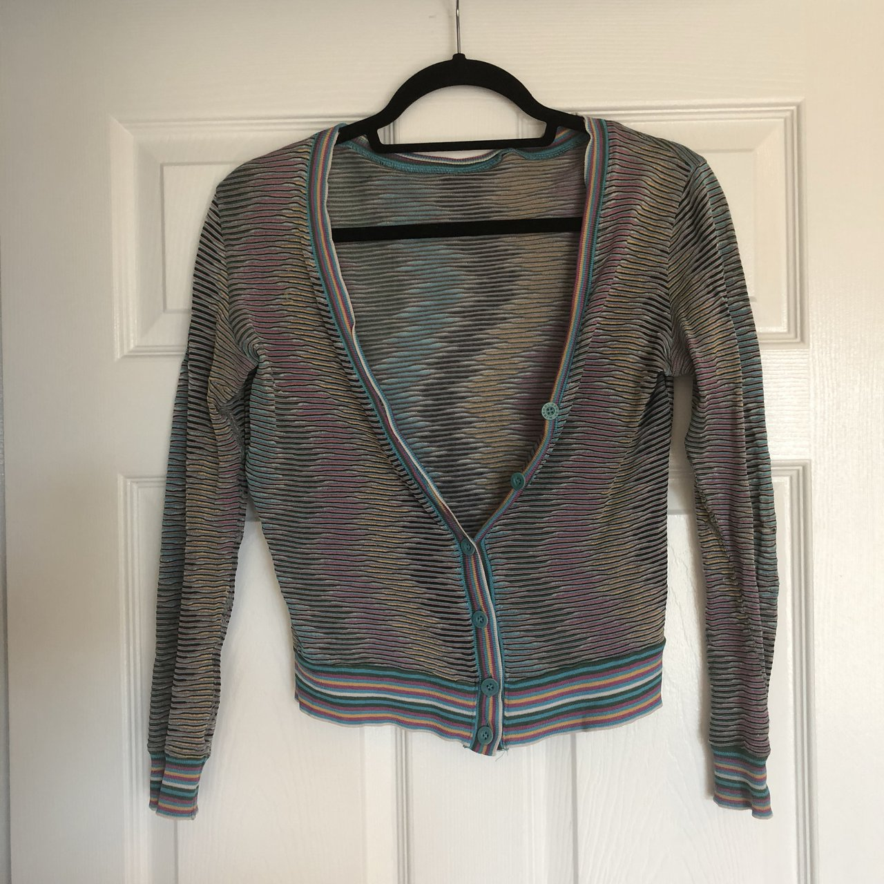 Vintage Missoni cardigan. Size 44. Fits like a size small. a - Depop 5a4e04dad