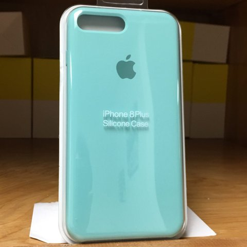 blue silicone iphone 7 case