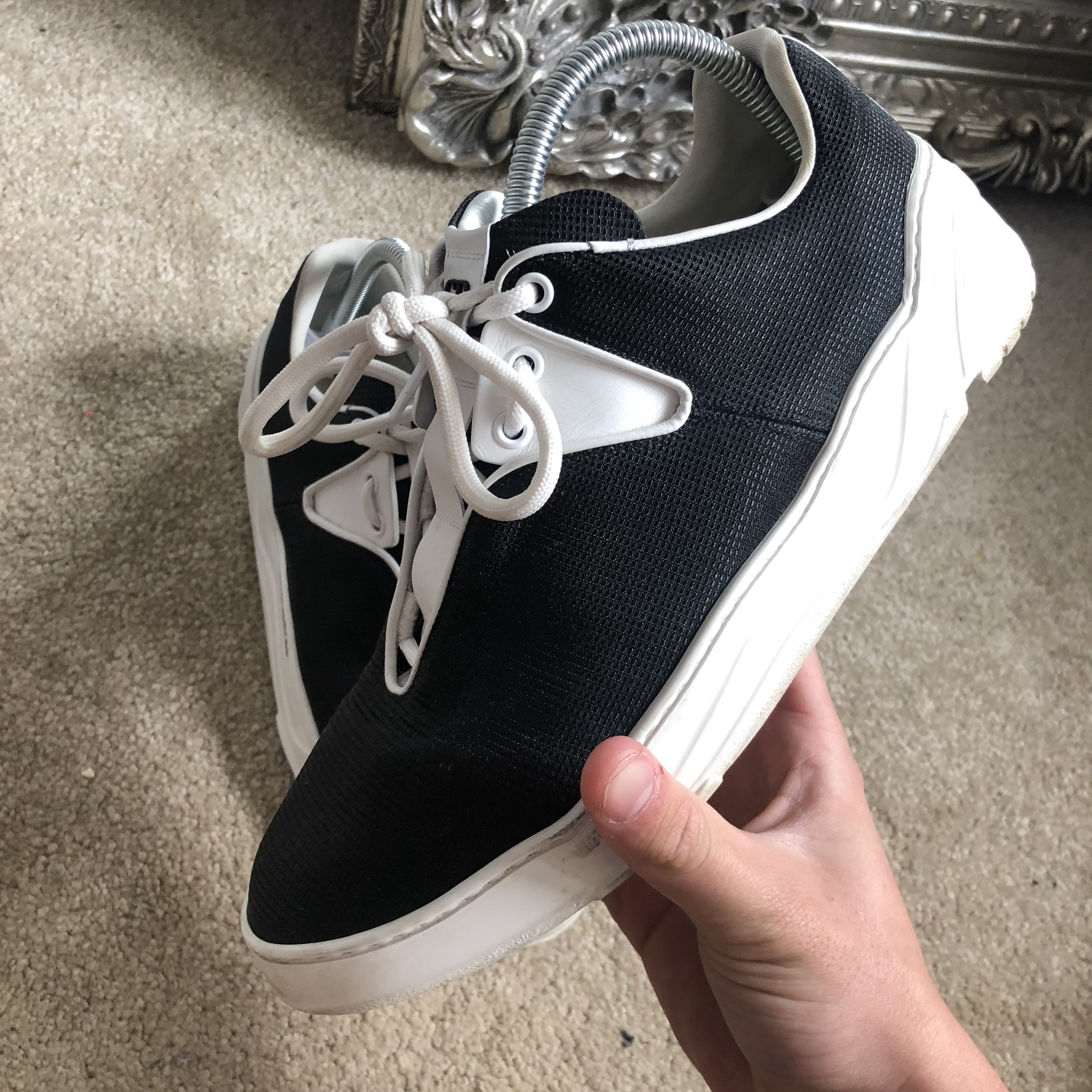 dior homme trainers size uk 7 sold
