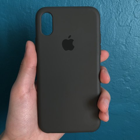 brand new f7115 9c7db Used Apple iPhone X Dark Olive (Looks like Gray)... - Depop