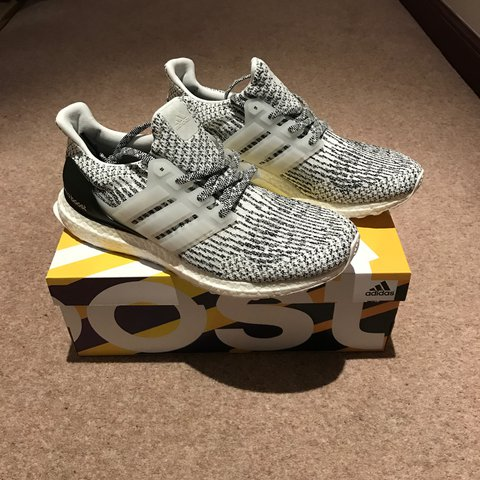 c0bed21b259c Adidas Ultra Boost 3.0 Oreo UK 9. Brand new with box. Sold - Depop