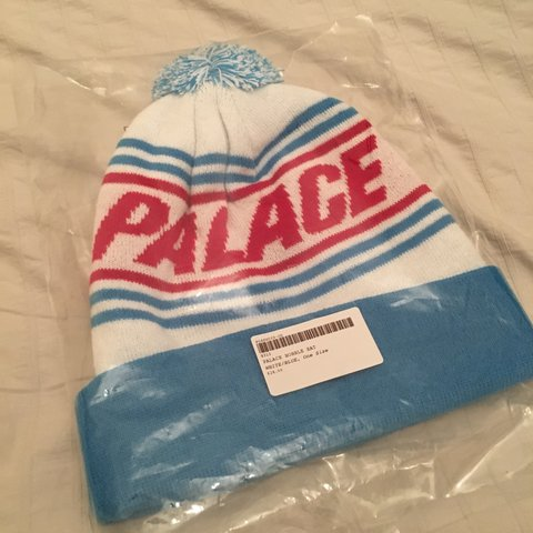 572b7e87f70 Palace bobble hat brand new - Depop
