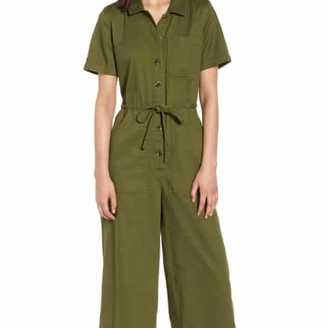bc541341233 Super cute Wide Leg Utility Jumpsuit from Madewell Size  and - Depop