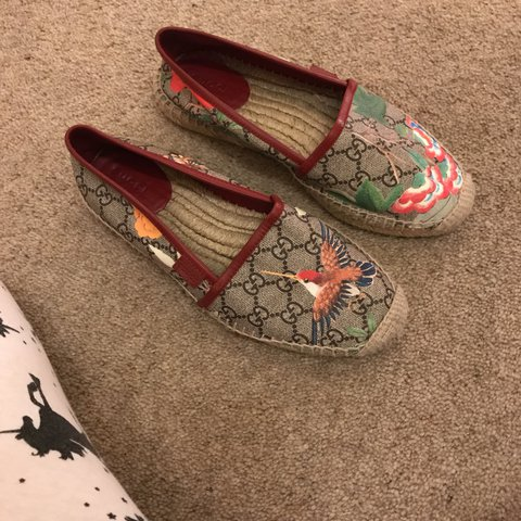 273342091fb Gucci espadrilles size 37 Brilliant condition - Depop