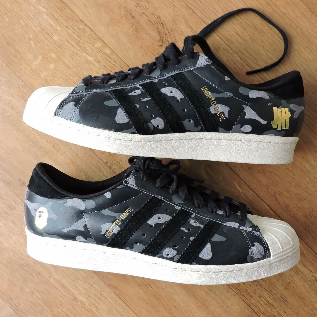 purchase cheap 20be0 ac978 Adidas superstar x BAPE x Undftd Condition Near DS ▪️...