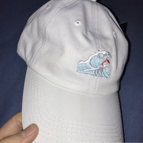 037817395273f Pink dolphin hat brand new sold out Supreme bape nike wear - Depop