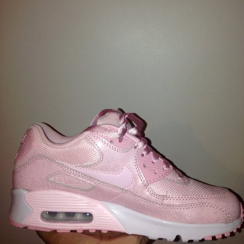 ef542d44a1 @rochh_clemmings. last year. Bristol, United Kingdom. Baby pink Nike Air Max  ...