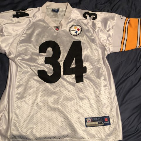 cfd56eb35 Really well done Rashard Mendenhall white and yellow jersey - Depop