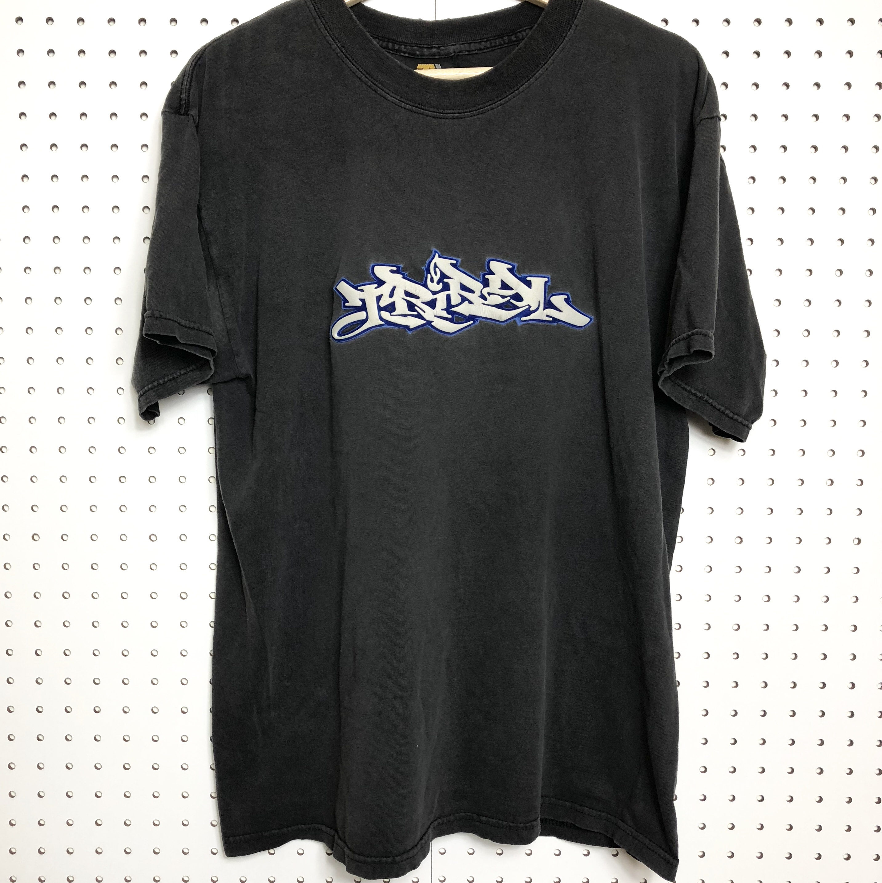 Vintage y2k Tribal USA brand T shirt with 3-D puffy    - Depop