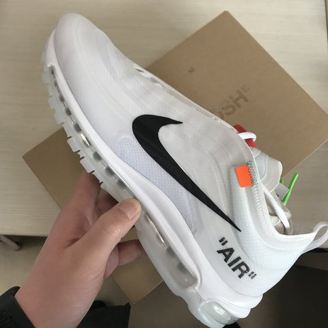 finest selection 073a9 77780  alecheng. last year. Firenze, Italia. 🚫SOLD!!!! NIKE X OFF WHITE AIR MAX  97 - DS WITH TAGS - EU46 US12 ...