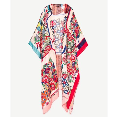 9f6b7637 @katiejackson_92. 2 years ago. London, UK. Zara kimono shawl. Worn once, in  perfect condition. Completely sold out ...