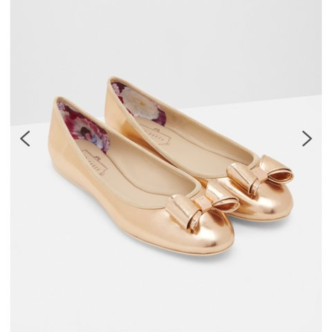 df83abba6264 Ted Baker Ballet Pumps. UK 4 Ted Baker flat shoes Ted baker - Depop