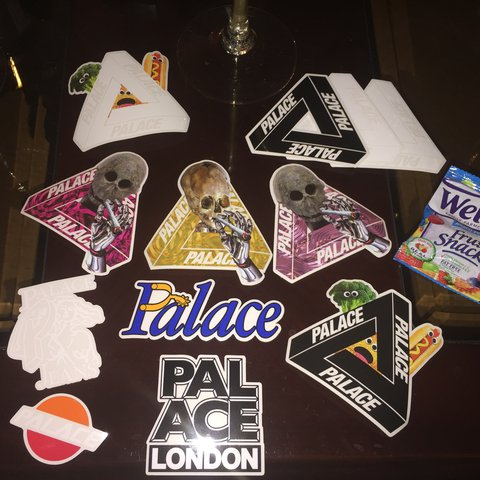 11c93eb50b69 Palace Skateboards ss17 sticker pack includes everything to - Depop