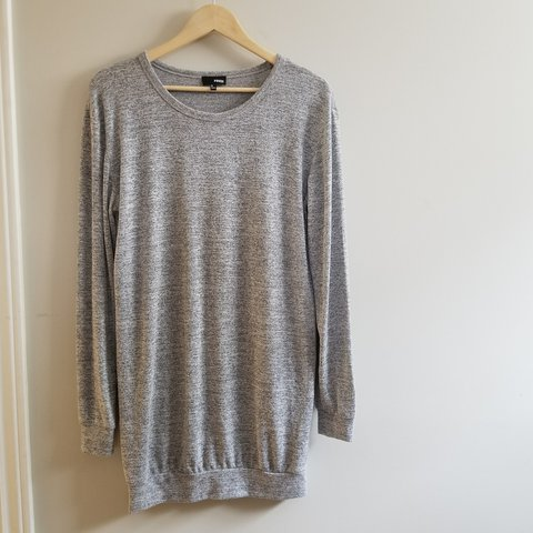 c090176aec6 Aritzia WILFRED FREE heather grey sweater dress. Made out of - Depop
