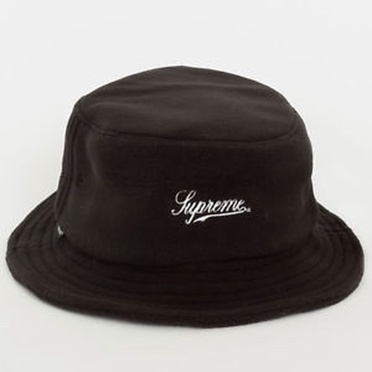 0a63e738ad2 Supreme F W 2017 Polartec fleece bucket hat. Black