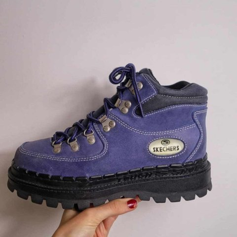 8ed95b2be5e2 😍😍😍 RARE 90S SKECHERS JAMMERS BOOTS IN PURPLE - these are - Depop