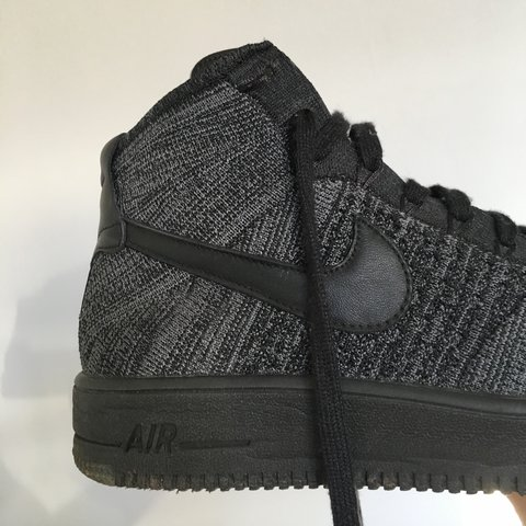 e32cb5cb13a Nike Air Force 1 Ultra Flyknit Mid Size UK8 Original worn a - Depop