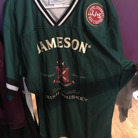 8810ac336 jameson #whiskey #football #jersey #athletic #wear - Depop