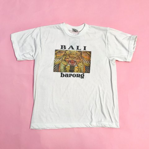 2b32ad61 Vintage Bali t-shirt from the 80's. In great condition with - Depop
