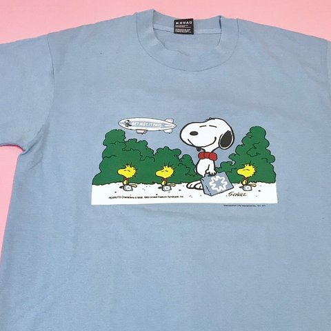 90be8ae2 @dandyland. 7 days ago. Fremont, United States. Vintage Snoopy t-shirt from  the late 1980's.