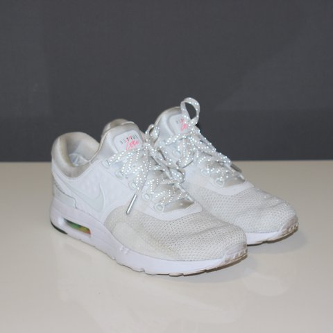 "sports shoes 1edda 6f19a  benrh15. last year. Galashiels, United Kingdom. • Nike Air Max Zero QS ""BE  TRUE"" • White"
