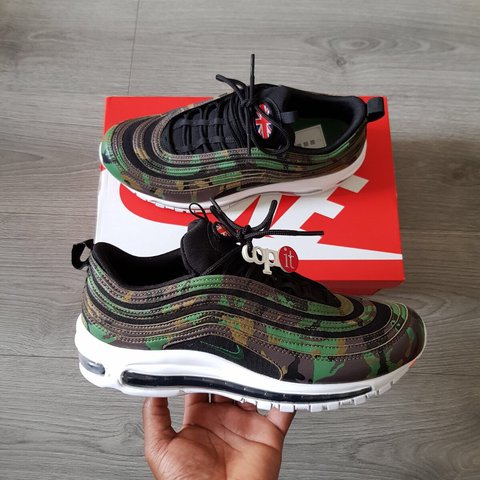 d4cee63498 @copit. last year. London, United Kingdom. NIKE AIR MAX 97 PREMIUM – COUNTRY  CAMO UK.
